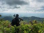 The view towards Mlinga trail