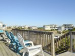 Adirondack Chairs on Top Level Deck
