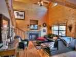 Living with Decorative Fireplace