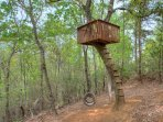 Swing with Treehouse for the Kids
