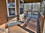 Plenty of Porch Seating on Front Porch