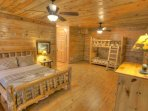 Lower Bedroom w/ Bunks