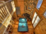 Pool Table arial