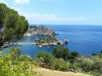 Isola Bella - Taormina at 8 miles from the Villa