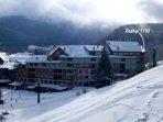 Incredible slopeside location