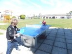TABLE TENNIS  --  free of charge at the resort