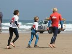 Why not book a surfing lesson during your holiday