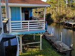 Waterfront/boat dock available/extra fee