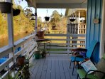Back porch facing bayou