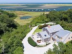 Enjoy views of Nauset Inlet