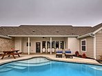 A private pool with golf course views awaits your stay at this ideally located property.