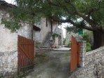 Entrance of Villa Menelia