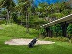 Villa Sawarin Cape Yamu Phuket - Golf Green