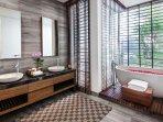 Villa Sawarin Cape Yamu Phuket - Master Bedroom 2