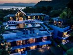 Villa Sawarin Cape Yamu Phuket - By Night