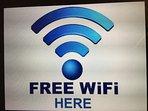 Free WiFi provided
