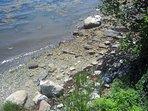 Private rocky beach