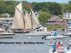 Windjammer Days a week long festival in Boothbay Harbor held the last week of June