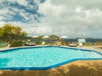 Terrace Pool with Views to the BVI