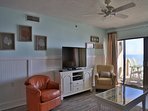 Tropical Winds 304 - Living Room with Large Flat Screen TV