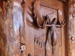 Timber Moose door