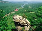 Chimney Rock State Park, in Chimney Rock, NC, is only 45 minutes from Saluda Vista.