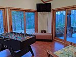 Sun Room Game Room main level