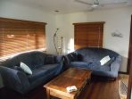 Comfortable lounge with board games, DVD player, Blue tooth and CD player.