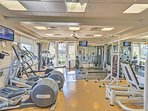 Take advantage of the fitness center and the classes that offered there!