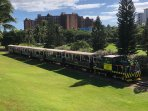 The Tourist Train that Passes through Ko Olina a Couple Times a Week