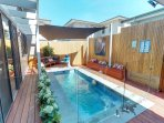 Gas and Solar Private Pool, perfect for all weather conditions!