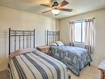 Boasting 2 twin beds, this room is perfect for siblings.