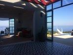 An indoor/outdoor villa