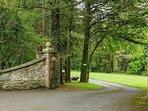Entrance to Colmer estate