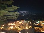 Panorama Civita d'Antino notte da Casa Maciocia