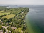 Gorgeous shoreline shot of Lake Simcoe