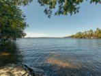long lake views