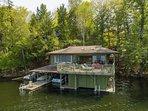 boathouse deck & dock
