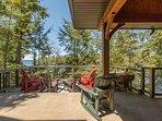 main cottage deck