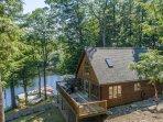 Spring Water Bay ~ Private & serene 4 bedroom cottage w 1 bedroom bunkie on Lake