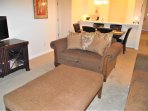 Relax after a day at the theme parks in the comfortable living room