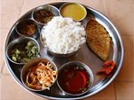 Traditional Goan fish thali