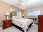Gulf front master bedroom is a rare commodity!!