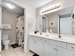 Majestic Sun 602A - King Master Suite Bath with Double Vanity