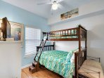 Majestic Sun 602A - Guest Bedroom Twin Over Full Bunk Beds