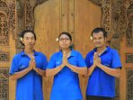 Our staff at Ume Cantik