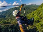For those looking for adventure, The Gorge zipline in Saluda, NC provides a real adrenaline rush!