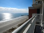 Fantastic Atlantic ocean views from Balcony