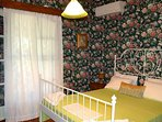 One of the bedrooms offers a double bed.