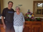 Karen & Warren our guests staying over Xmas period last year who have already booked for Xmas 2018